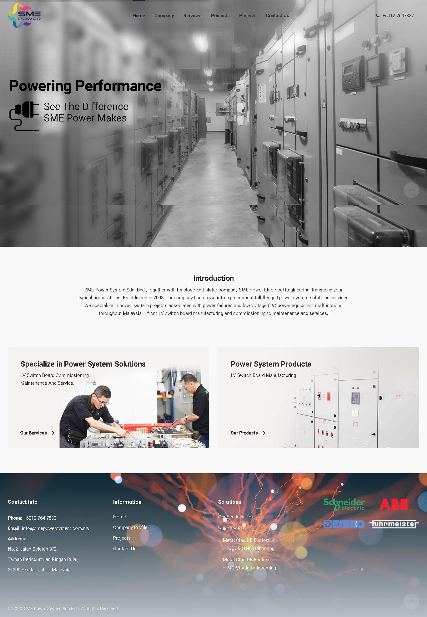 SME Power System